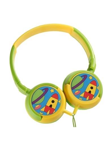 Volkano Junior Explorer Kulaküstü Eğlenceli Çocuk Kulaklığı VK-2000-BJE Renkli